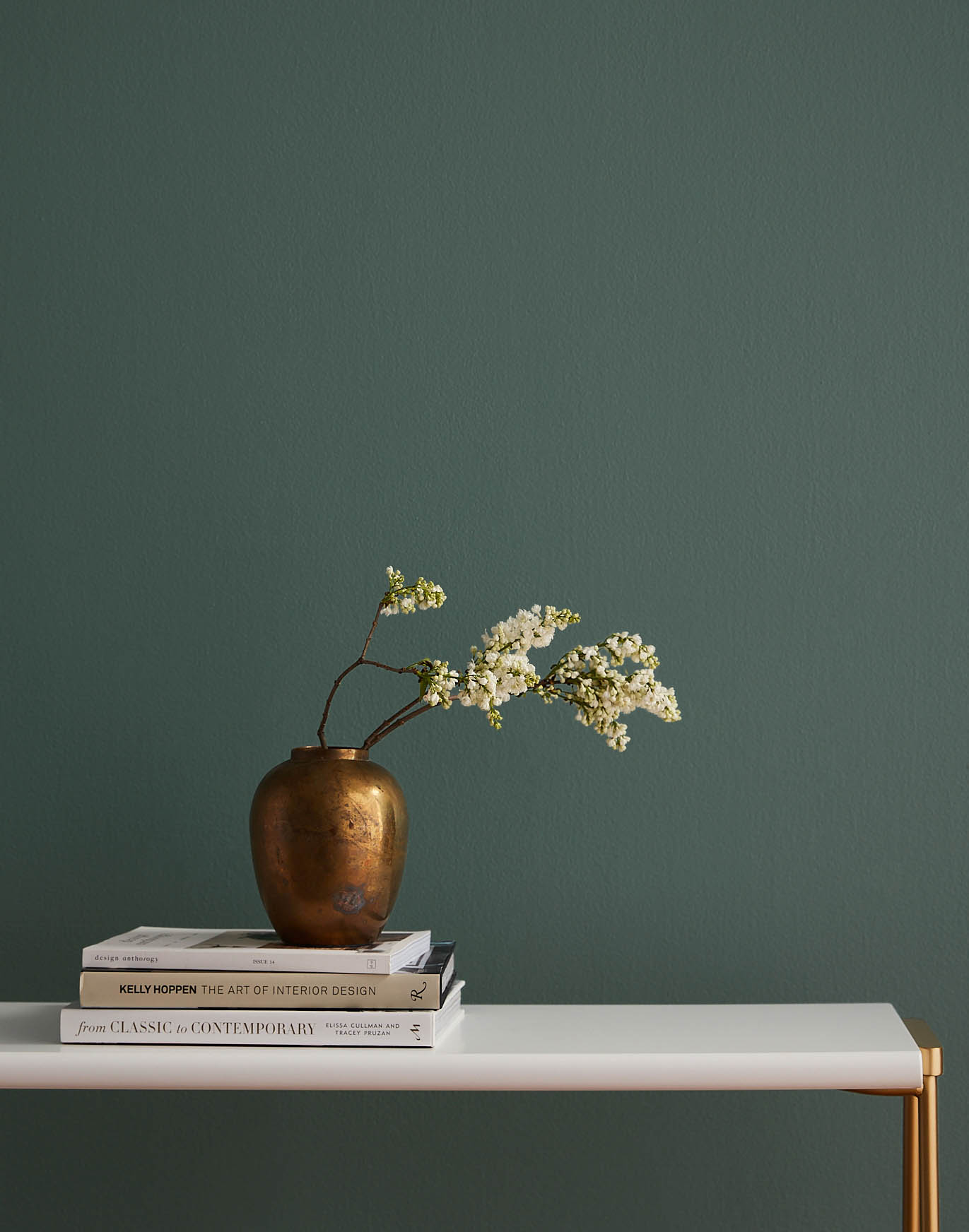 dark green paint, Current Mood by Clare