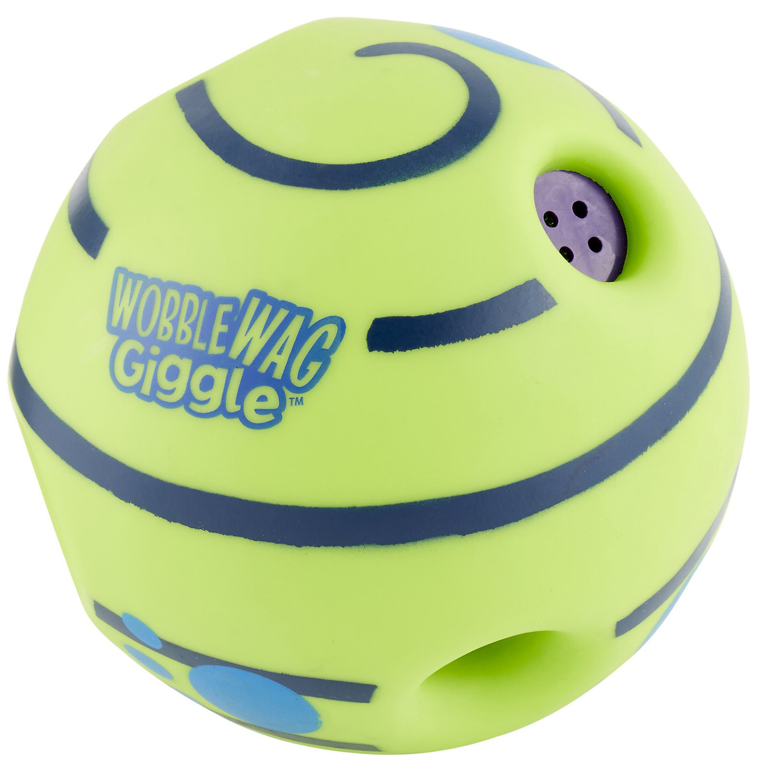Wobble Wag Giggle Ball Squeaky Dog Toy