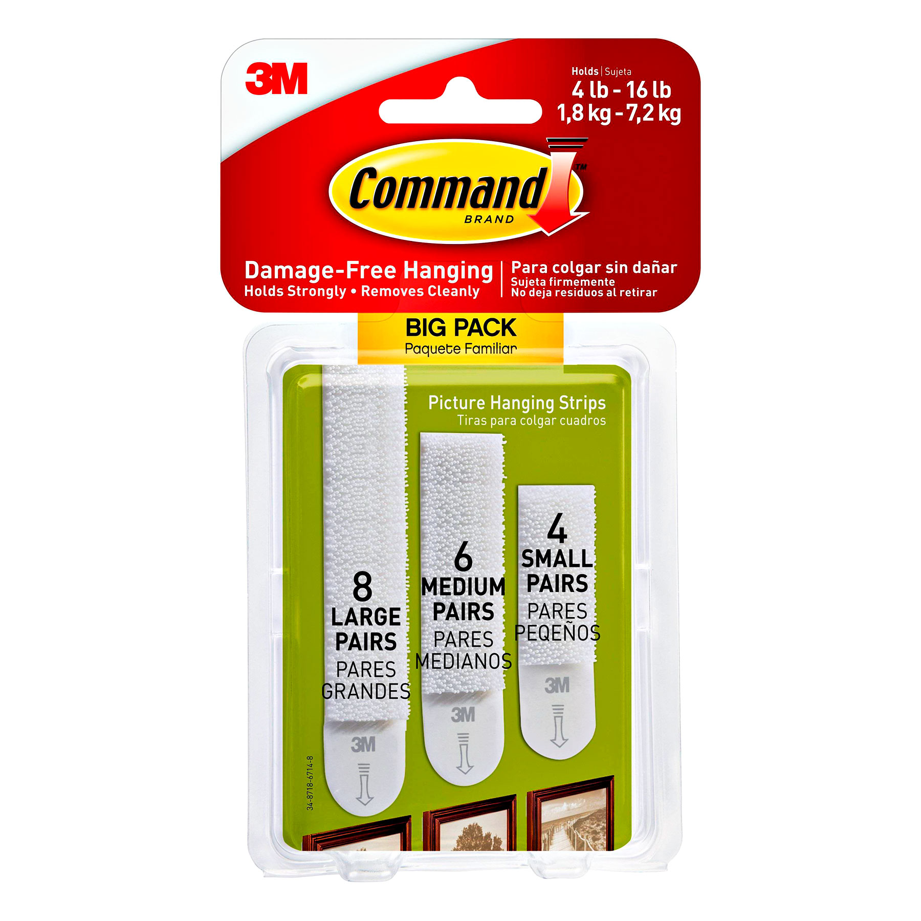 Gallery Wall Tools: Command Strips