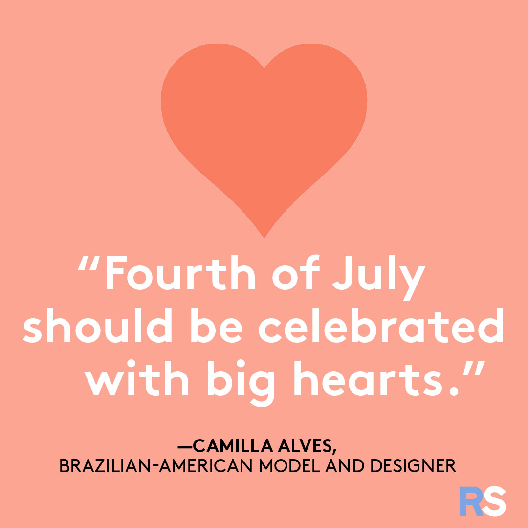 Fourth of July/July 4th Patriotic Quotes, Captions, and Sayings - Camilla Alves