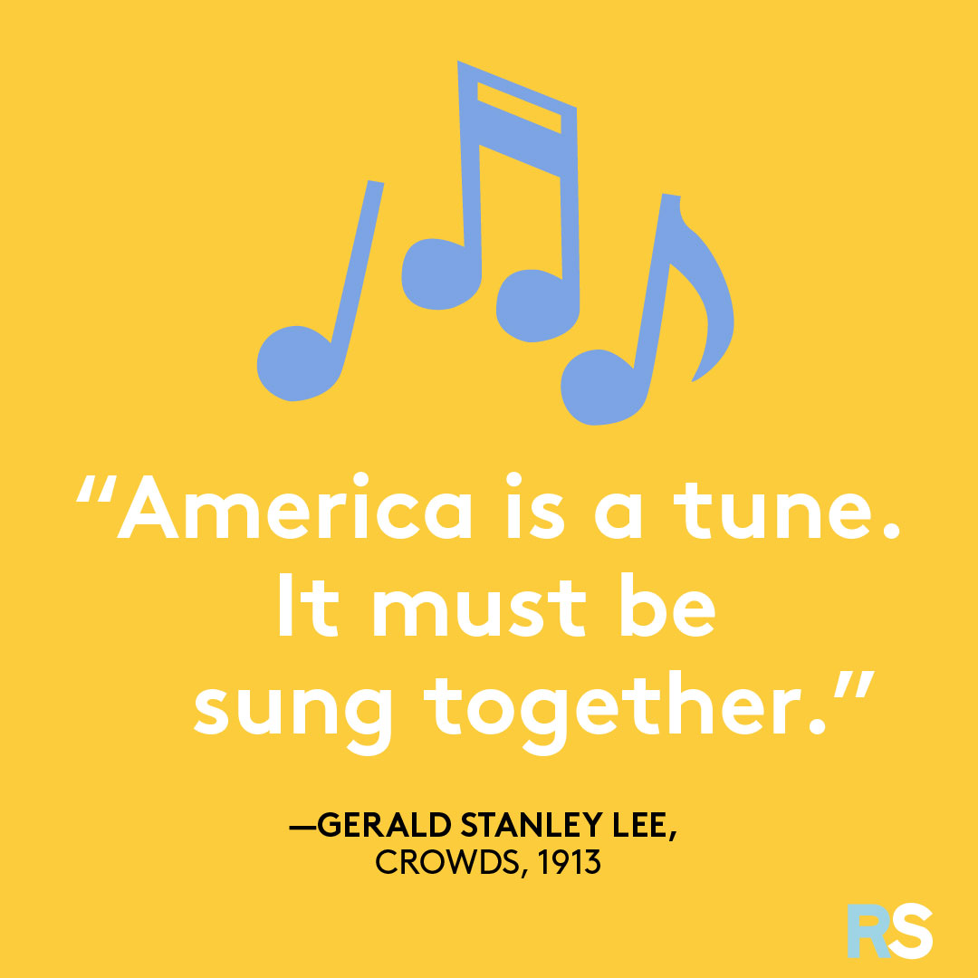 Fourth of July/July 4th Patriotic Quotes, Captions, and Sayings - Gerald Stanley Lee
