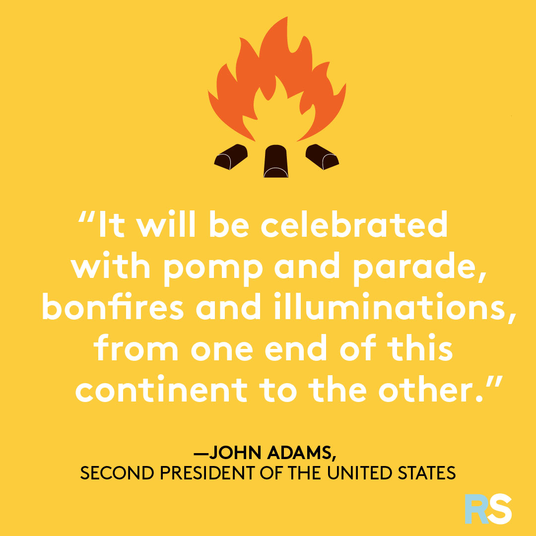 Fourth of July/July 4th Patriotic Quotes, Captions, and Sayings - John Adams