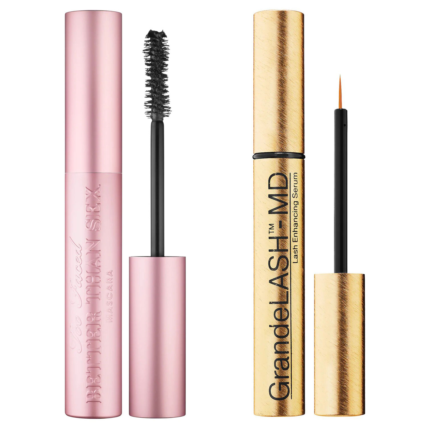 TOO FACED Better Than Sex Mascara and GRANDE COSMETICS