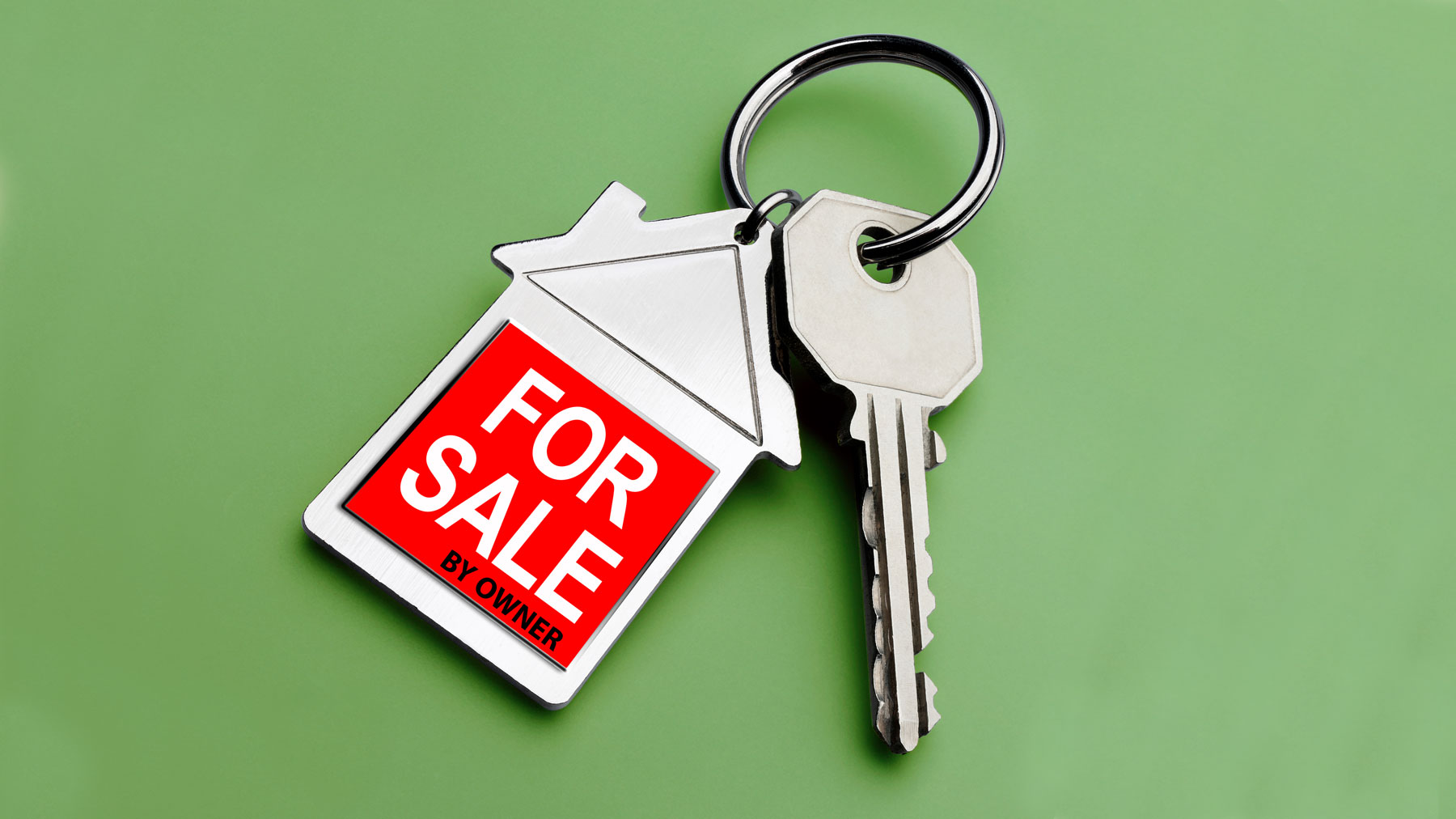 For Sale By Owner - pros and cons of selling by owner (FSBO) (house keys)