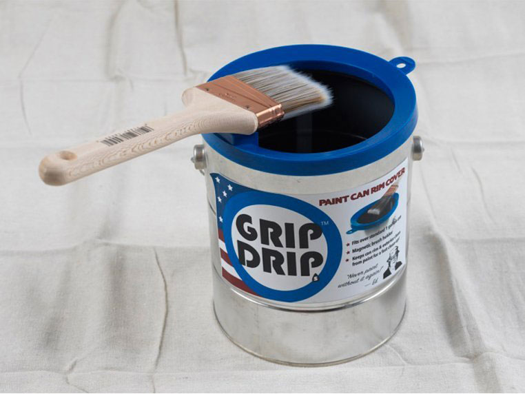 6 Clever Items 7/3/20 - Grip Drip Paint Can Rim Cover