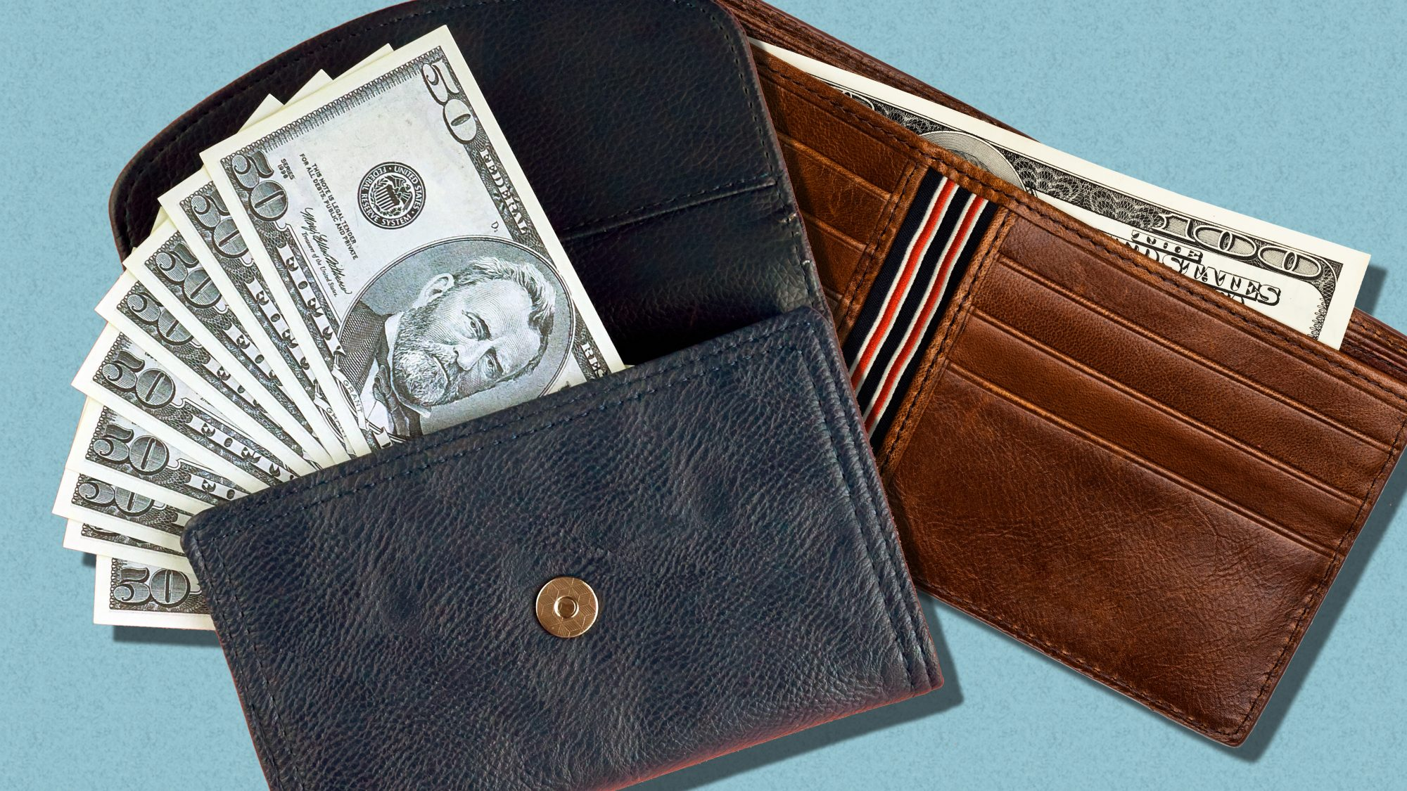 Managing money as a couple - tips and questions for conversation starters (wallets)