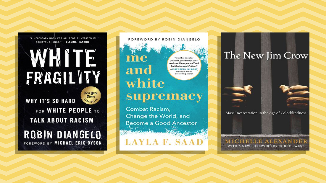 Anti-Racism books at libraries right now - three anti-racism or social justice books