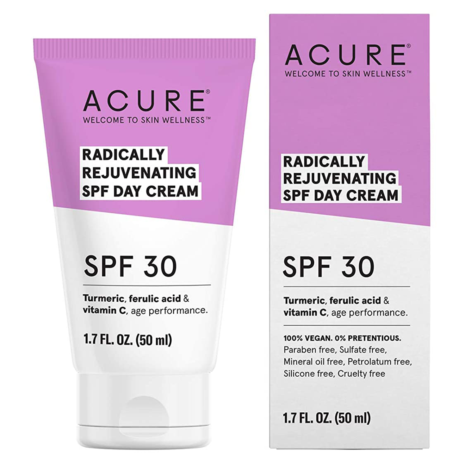Best Budget Organic Option: Acure Radically Rejuvenating Day Cream SPF 30