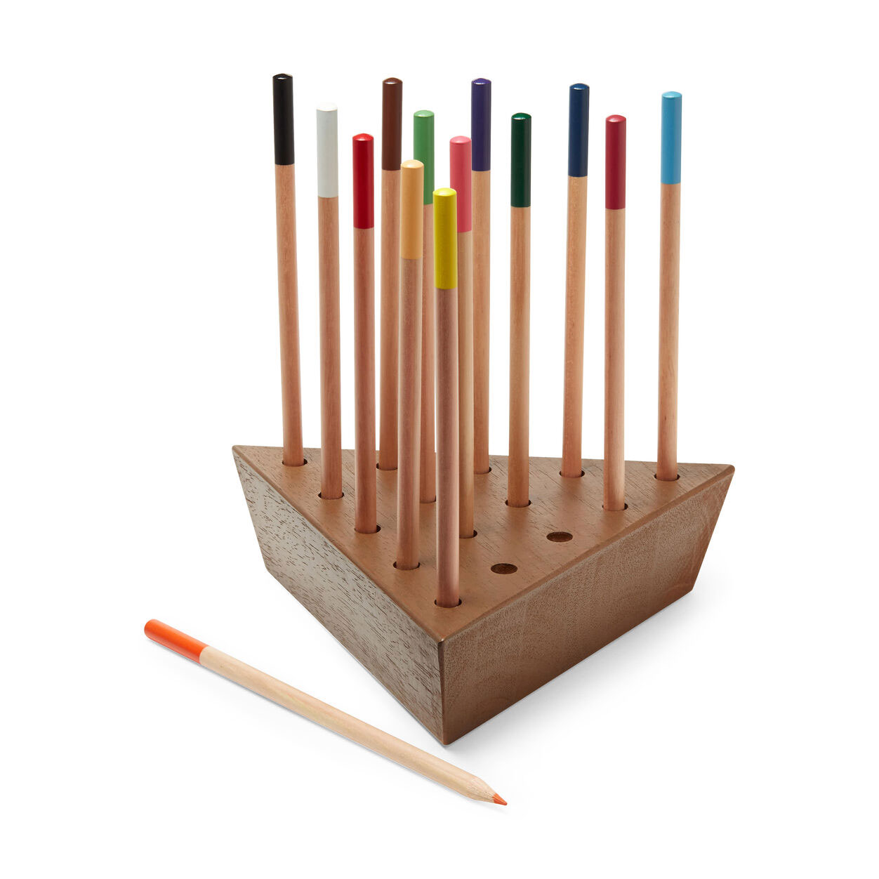 Father's Day gift ideas - Writer's Block Peg Game with Colored Pencils