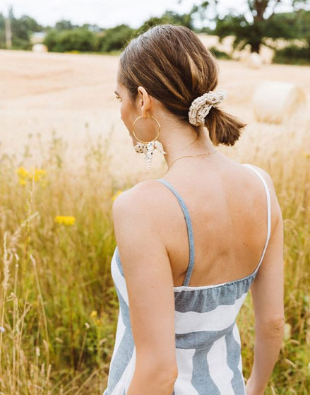 Cute hairstyles for school - Louise Roe ponytail