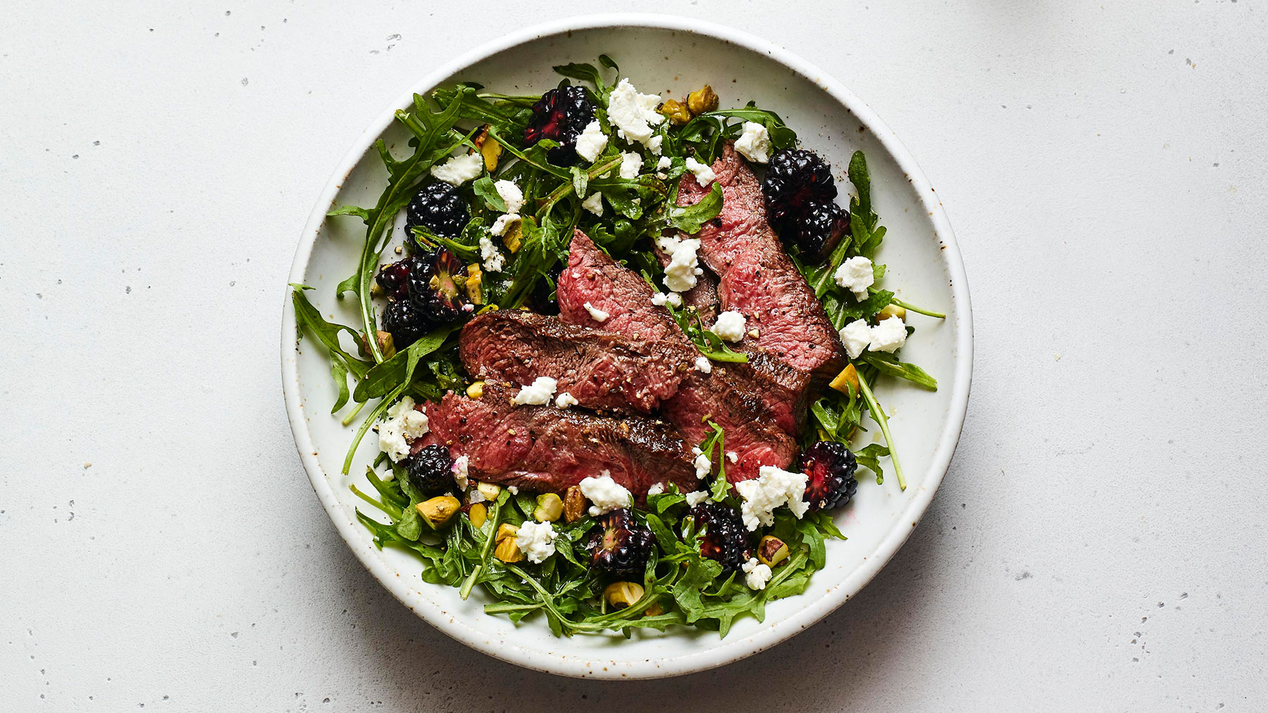 Steak and Blackberry Salad Recipe