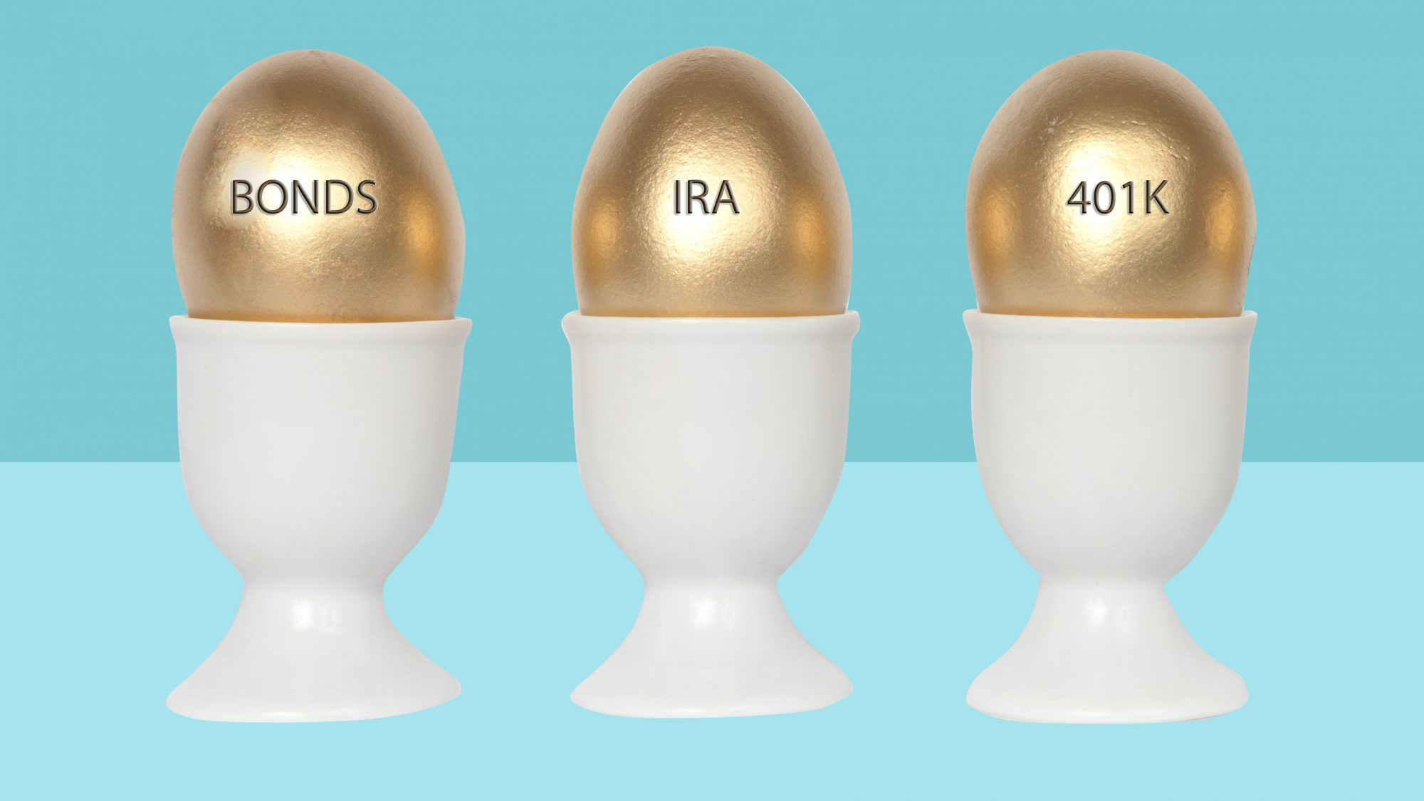 Retirement savings and goals by age - how to save for retirement by age: golden eggs