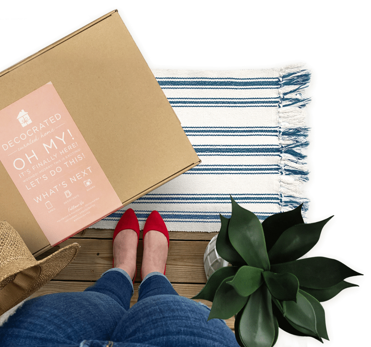 Best housewarming gifts - decocrated subscription box