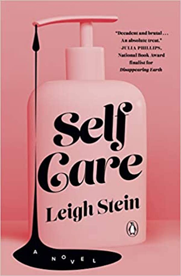 Pink book cover for Self Care