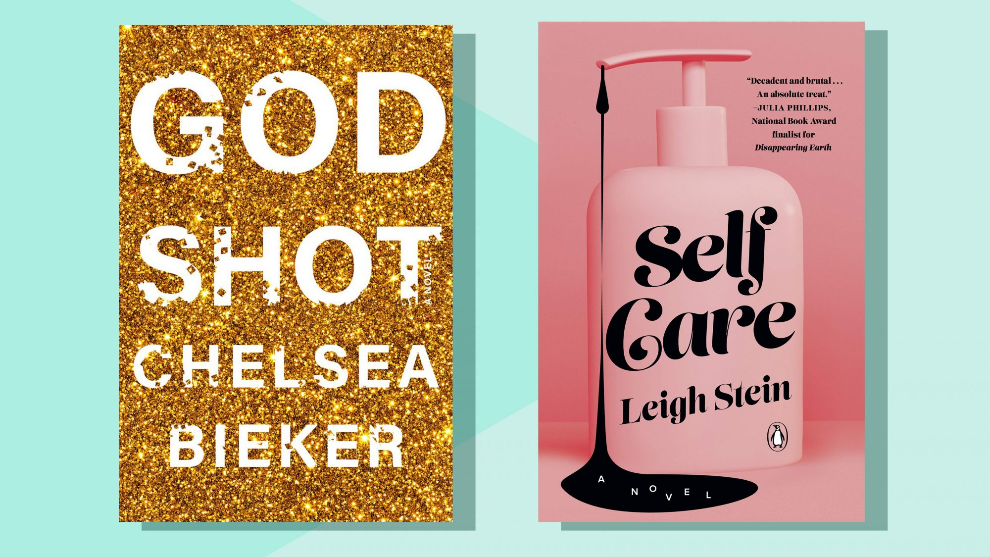 Godshot and Self Care book covers