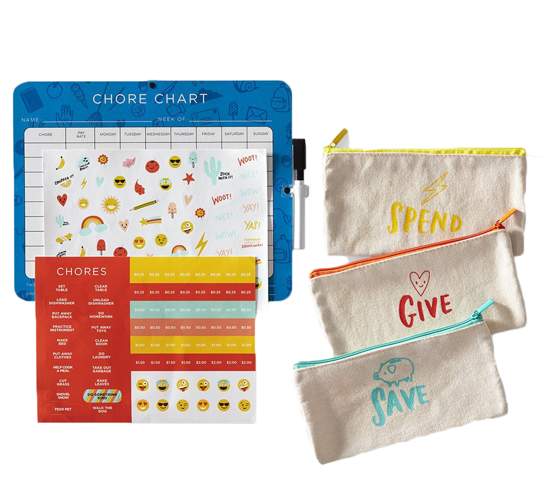 6 Clever Items 8/7/20 - Boon Supply Chore Chart kit