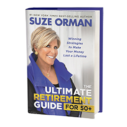 """Suze Orman's """"The Ultimate Retirement Guide for 50+"""""""