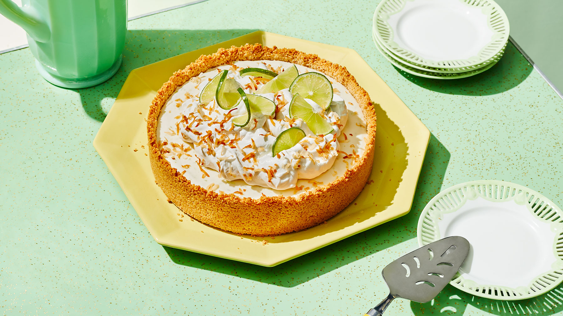 Toasted-Coconut Key Lime Pie