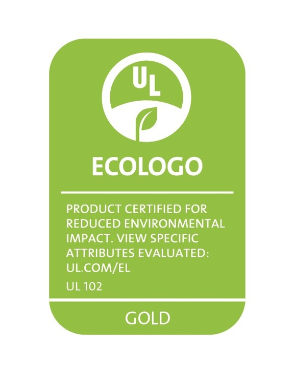 ECOLOGO product label seal