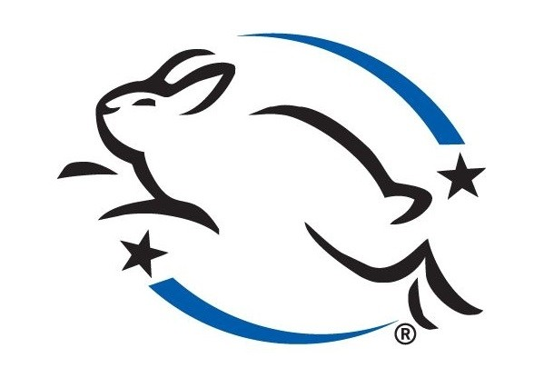 Leaping Bunny logo for cruelty-free products