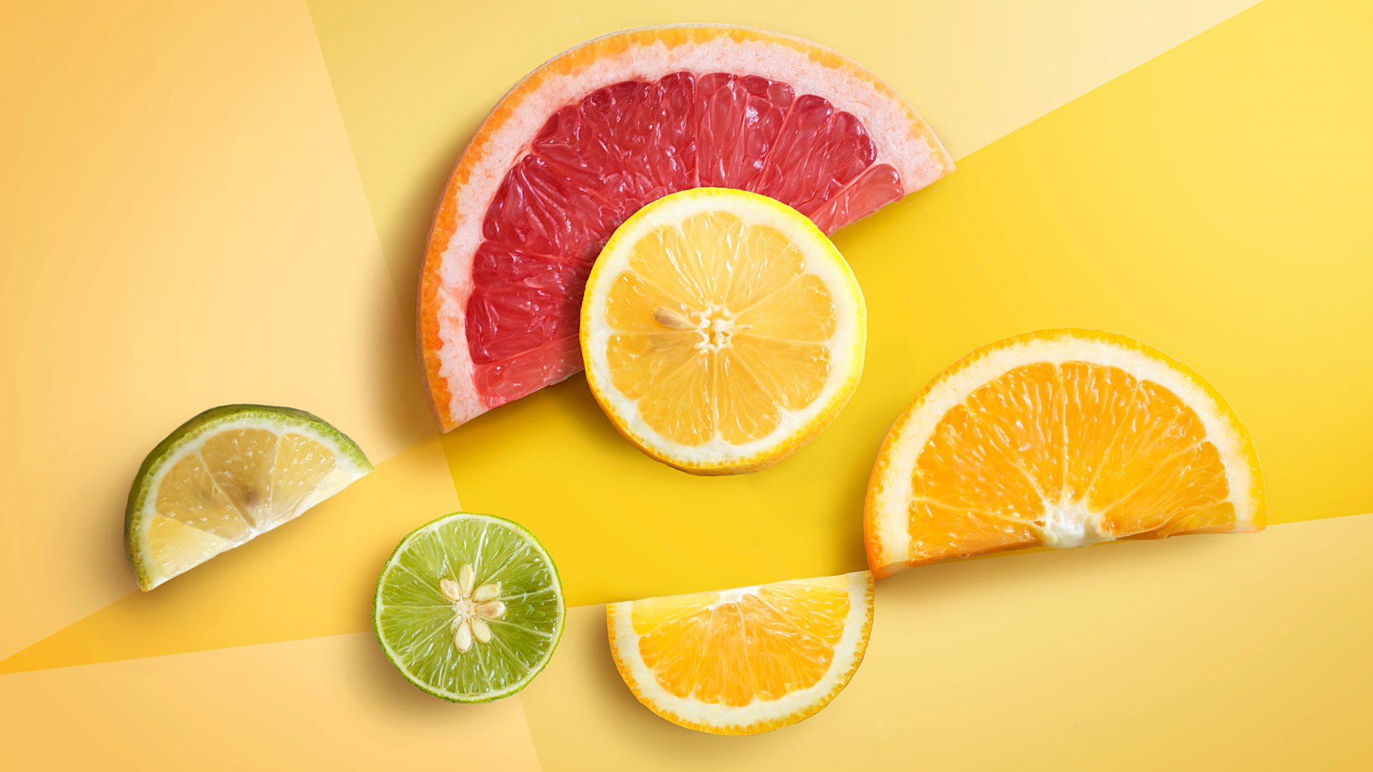 vitamin c foods: citrus fruit slices