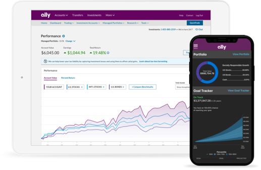 Best investment apps and services - Ally invest