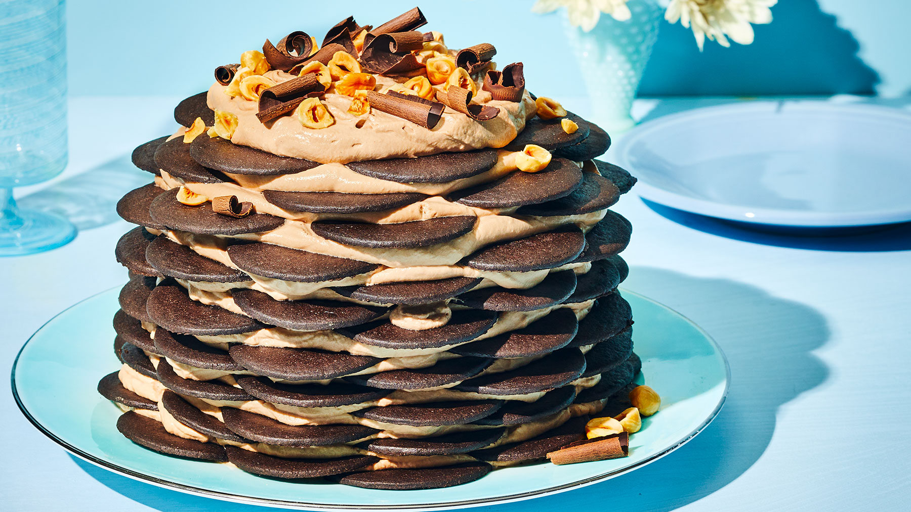 Hazelnut Bushwacker Cake Recipe
