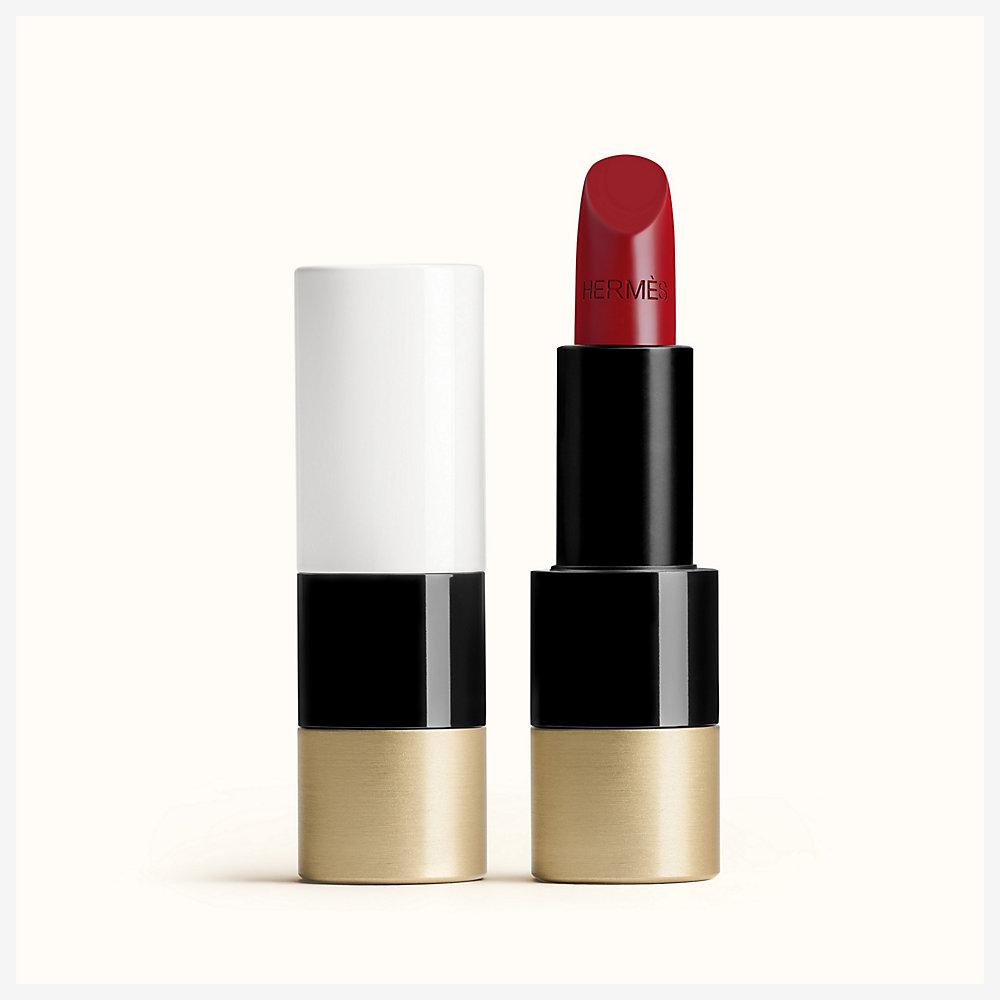 red lipstick hermes