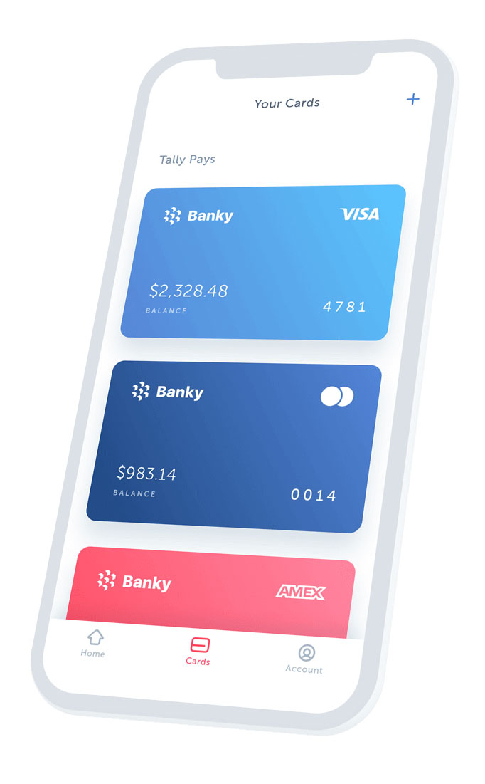 Best credit cards and services - Tally