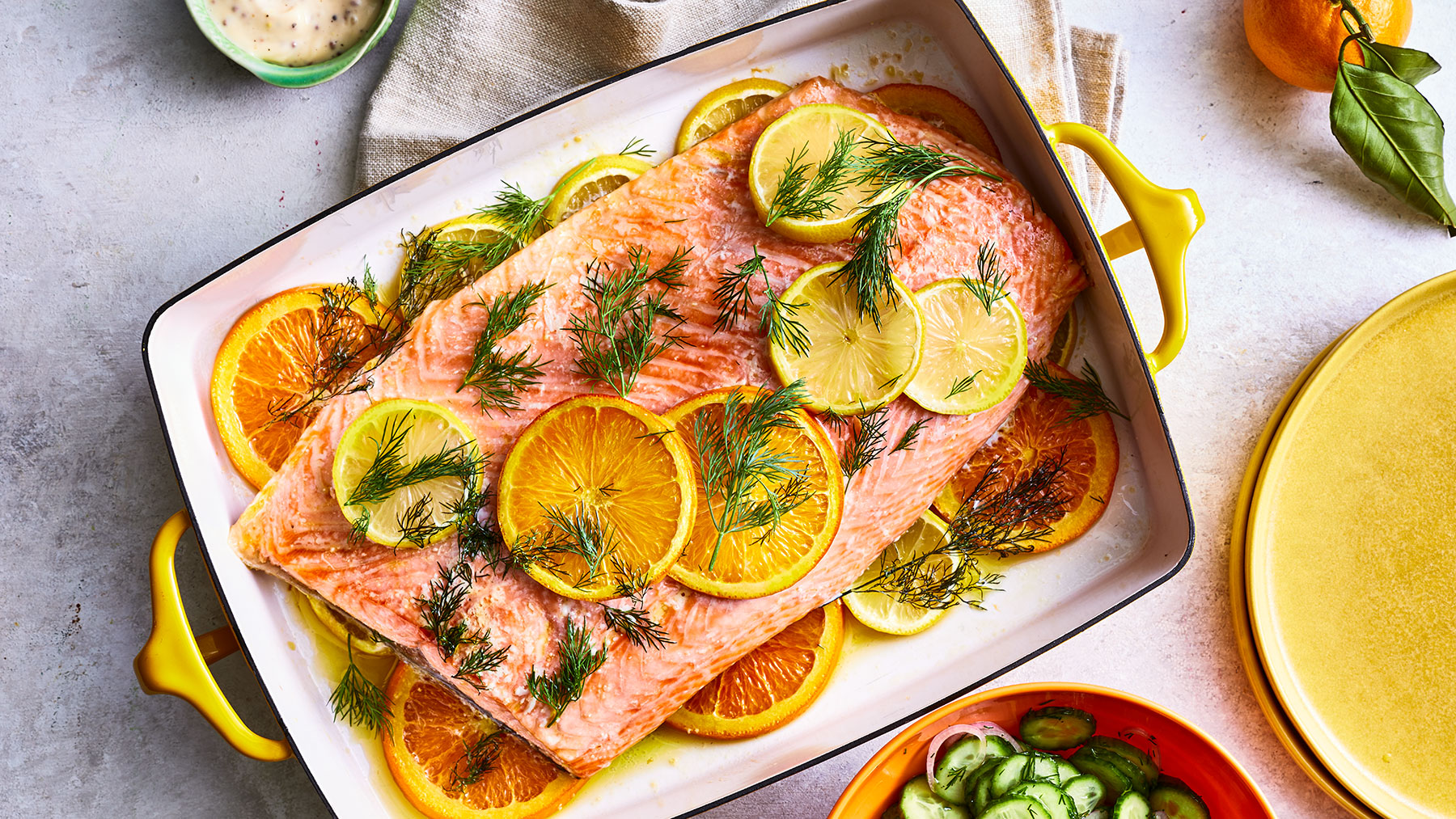 Citrus Recipes: Slow-Roasted Citrus Salmon