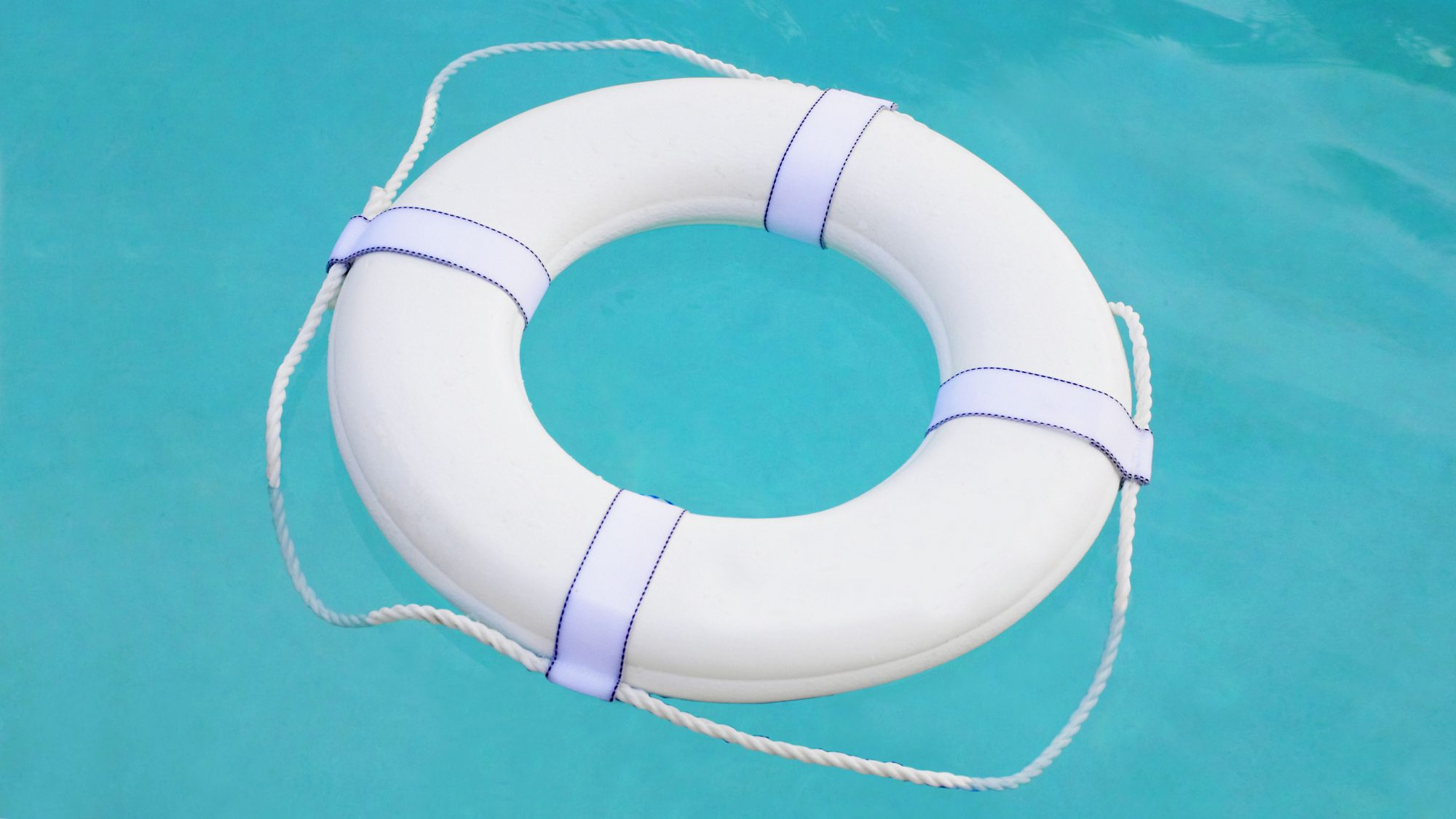 pool-safety-tips: lifeguard ring