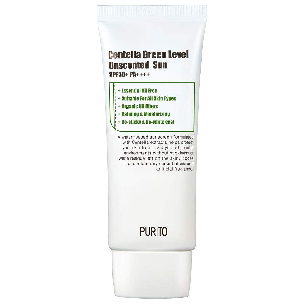Best Skincare for Rosacea: Purito Sunscreen