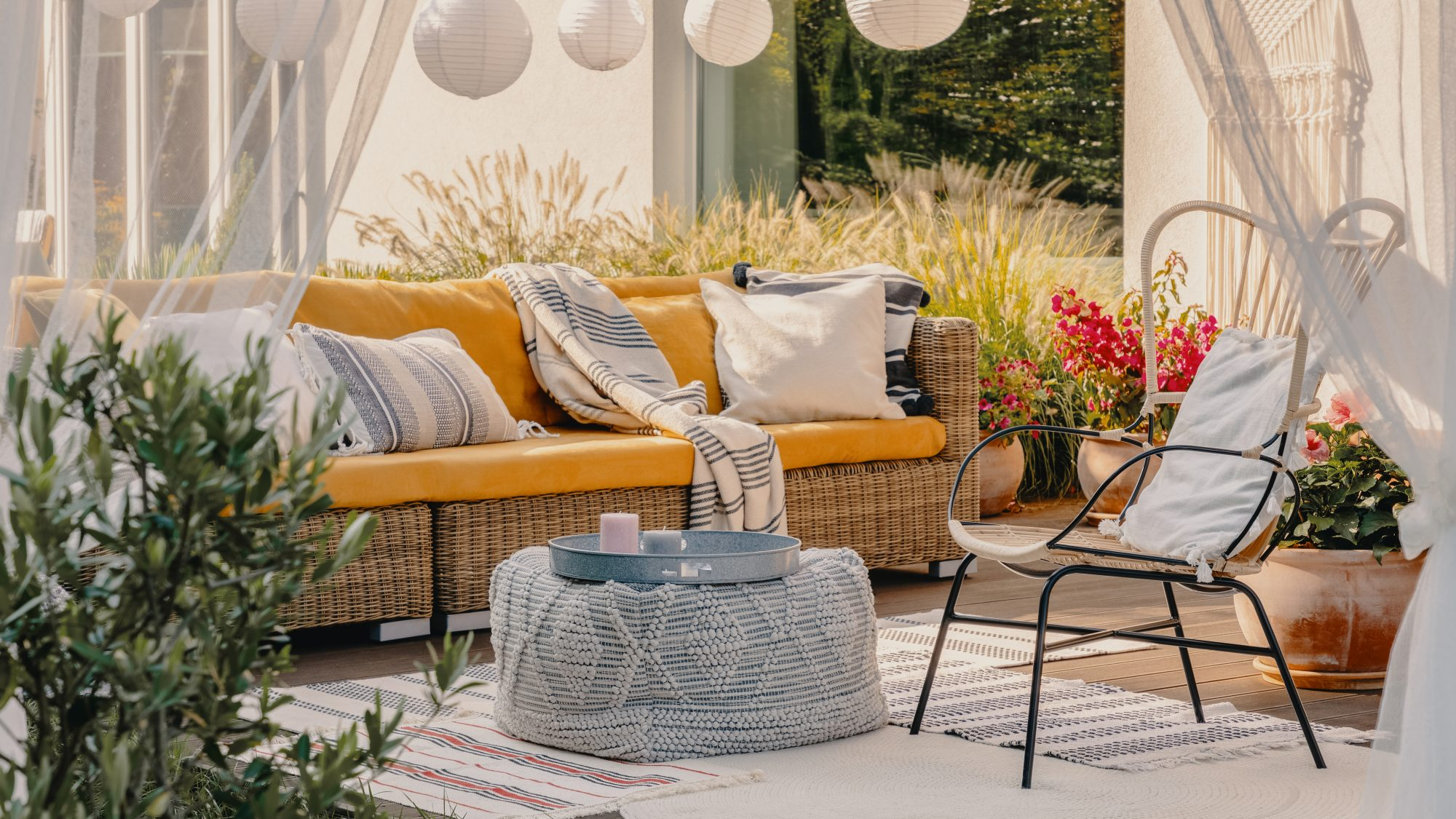Outdoor gear for fall hosting - fall porch decor for coronavirus hosting