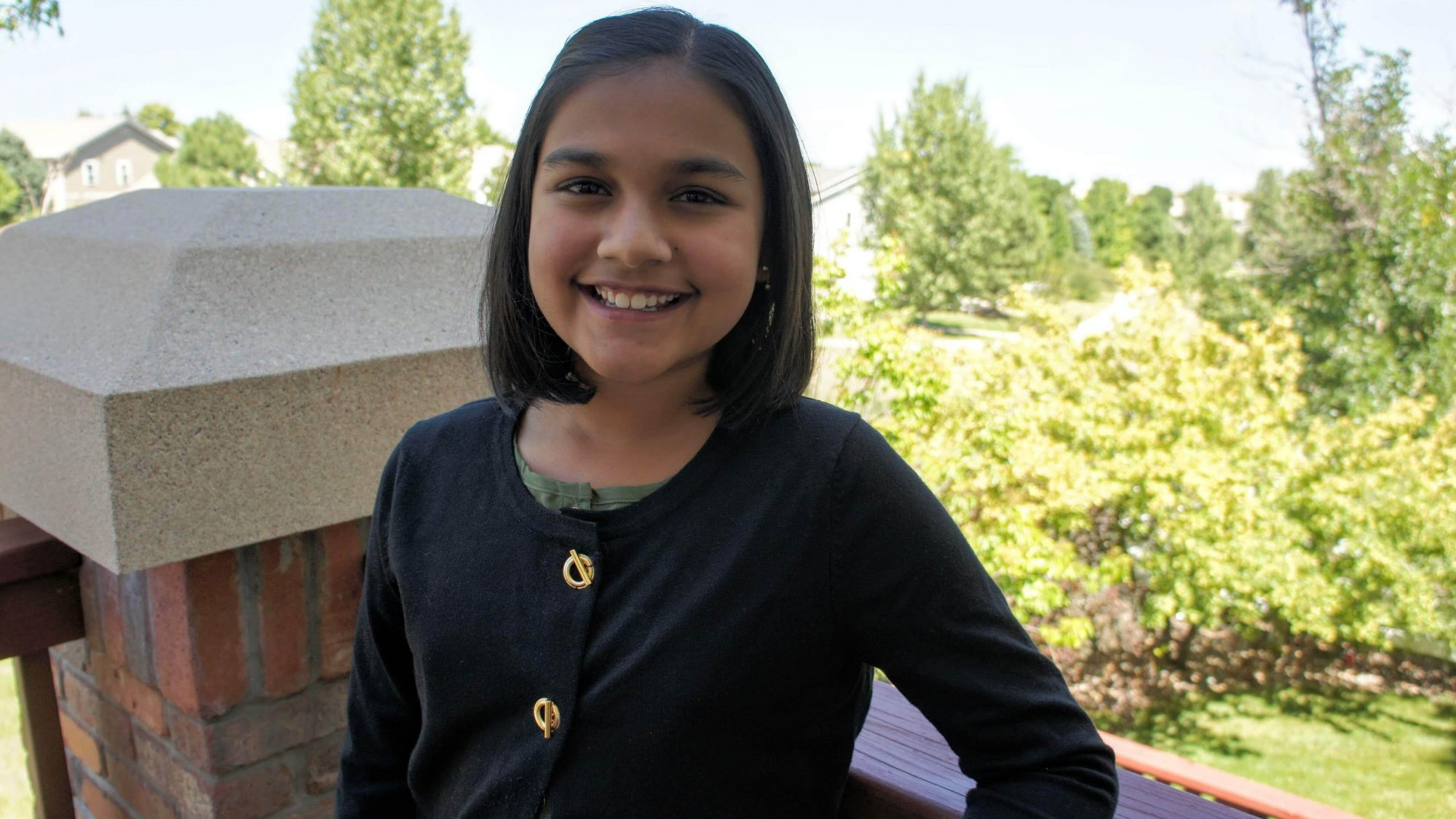 15-year-old Gitanjali Rao, founder of Kindly