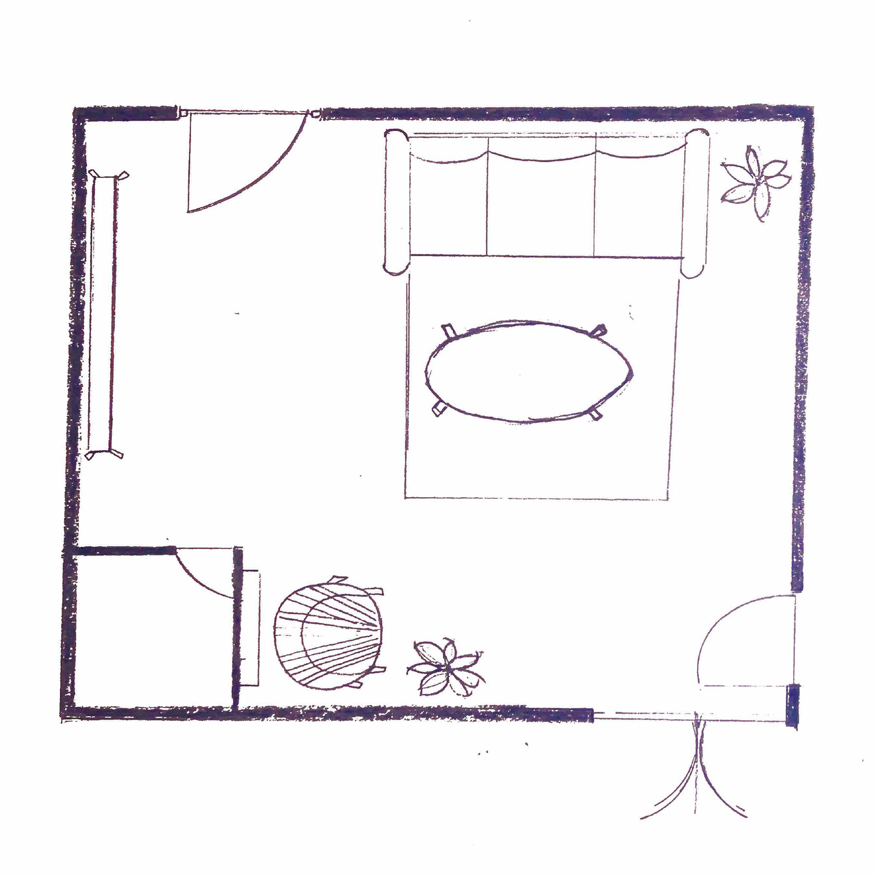 2020 Real Simple Home Preview: Woman Cave Floor Plan
