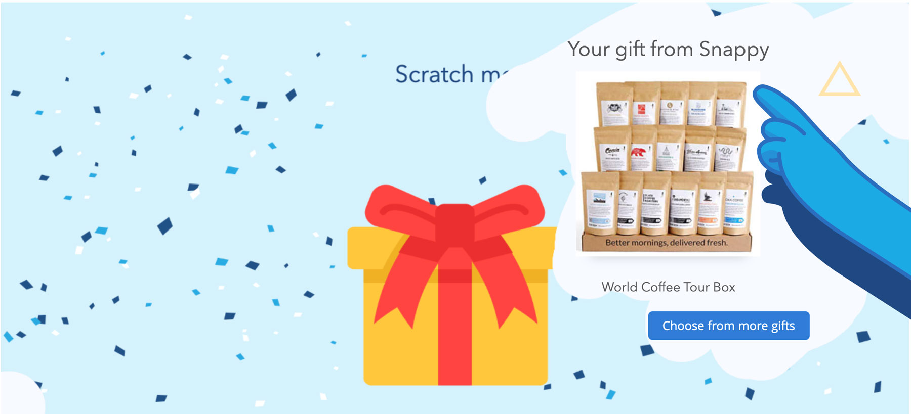 Gifts for employees and coworkers - Snappy gift service