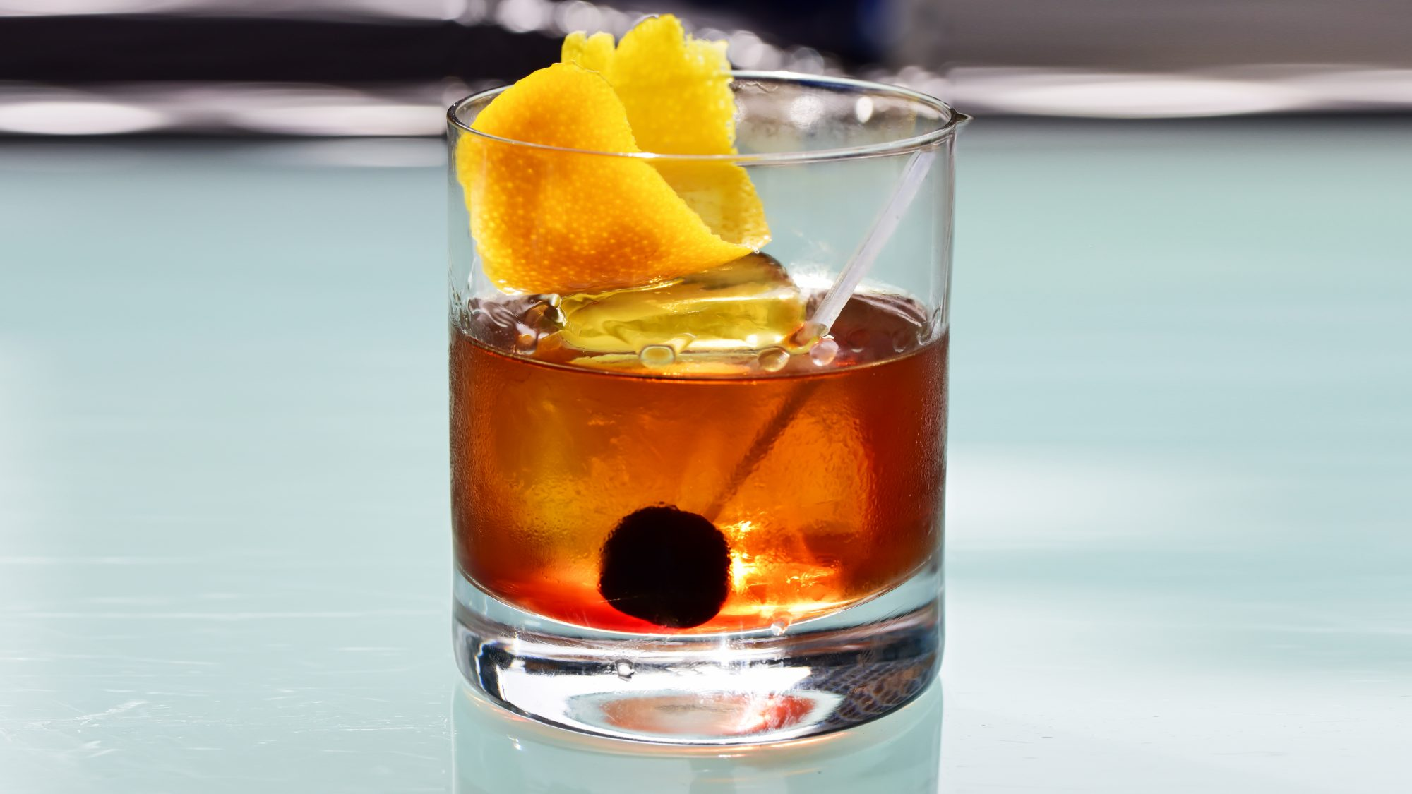 Manhattan Drink Recipe Real Simple