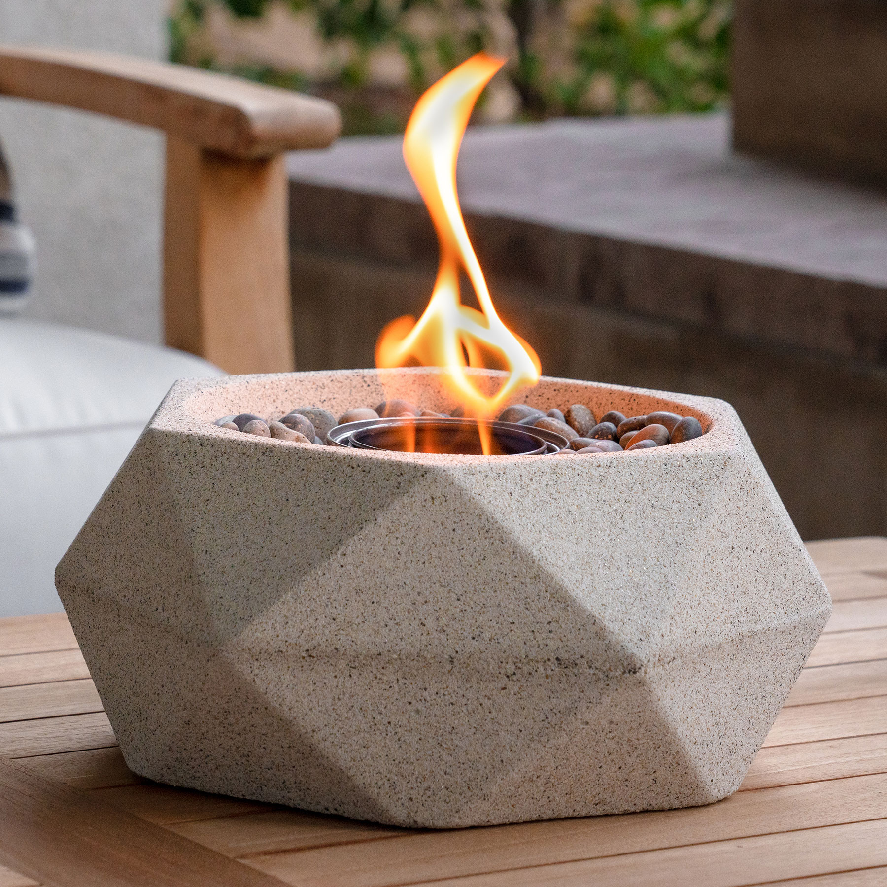Best Fire Pits: Terra Flame Table Top Fire Bowl