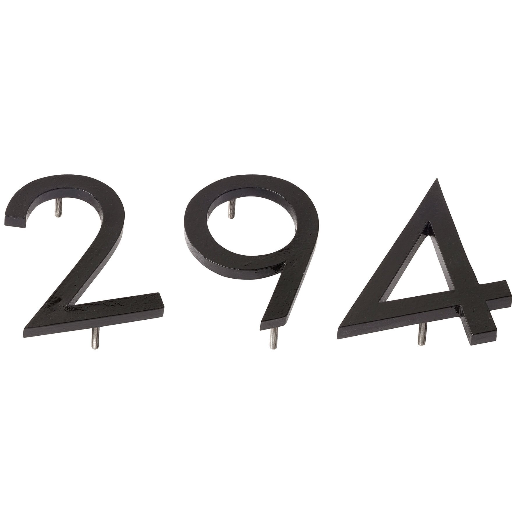 Front Door Decor: Montague Metal Products Modern House Numbers