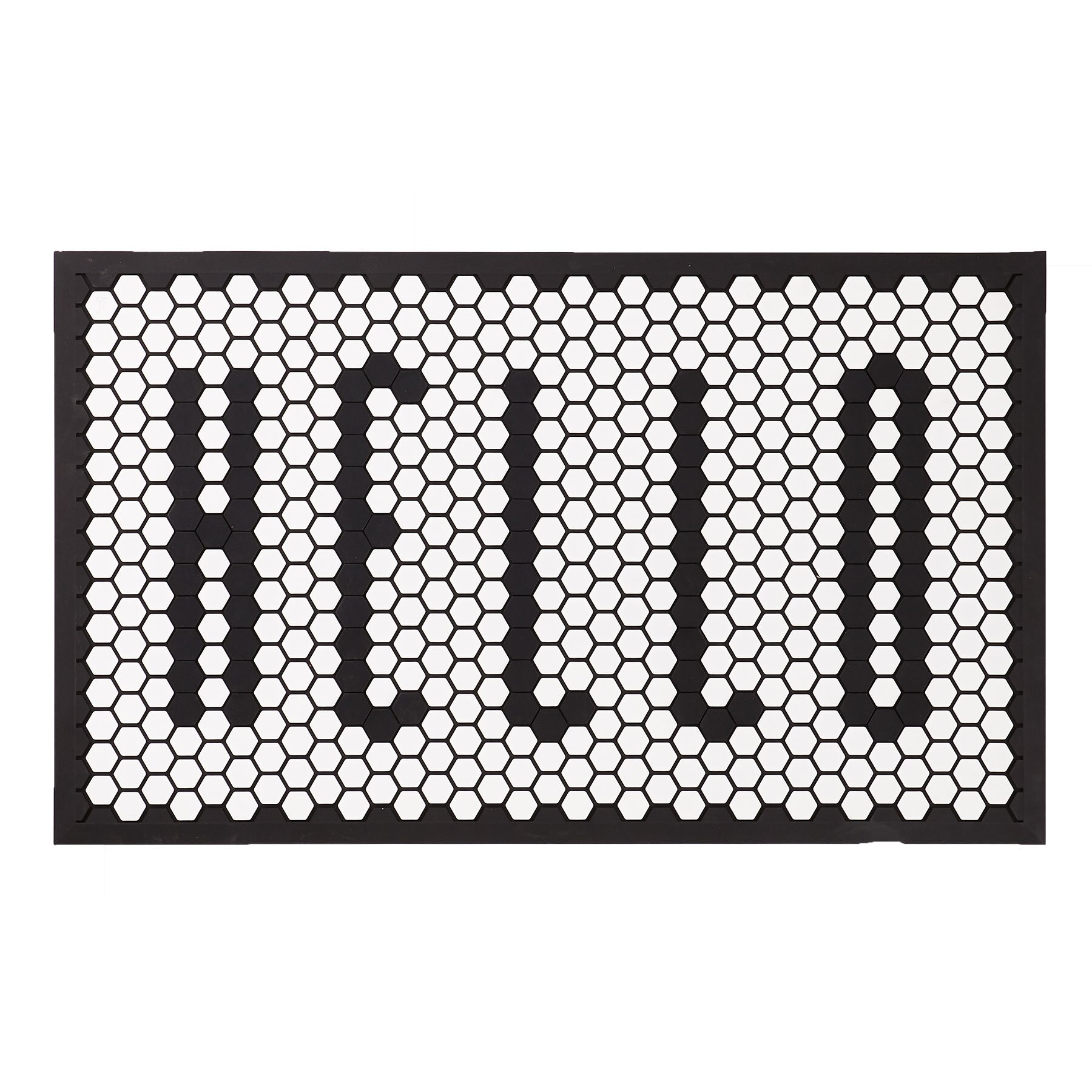 Front Door Decor: Tile Mat