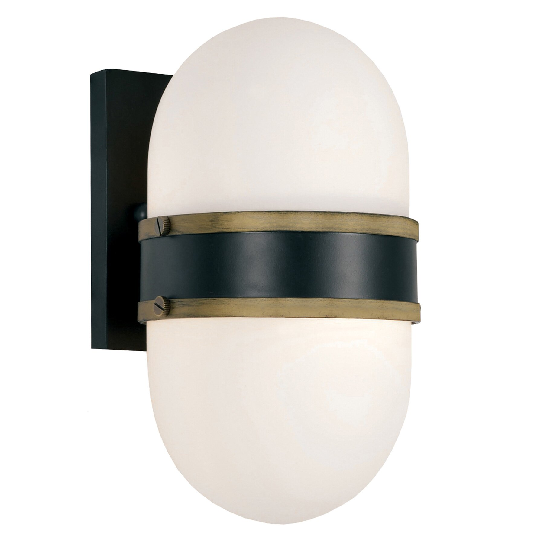 Front Door Decor: Latitude Run Needham 2-Light Outdoor Sconce
