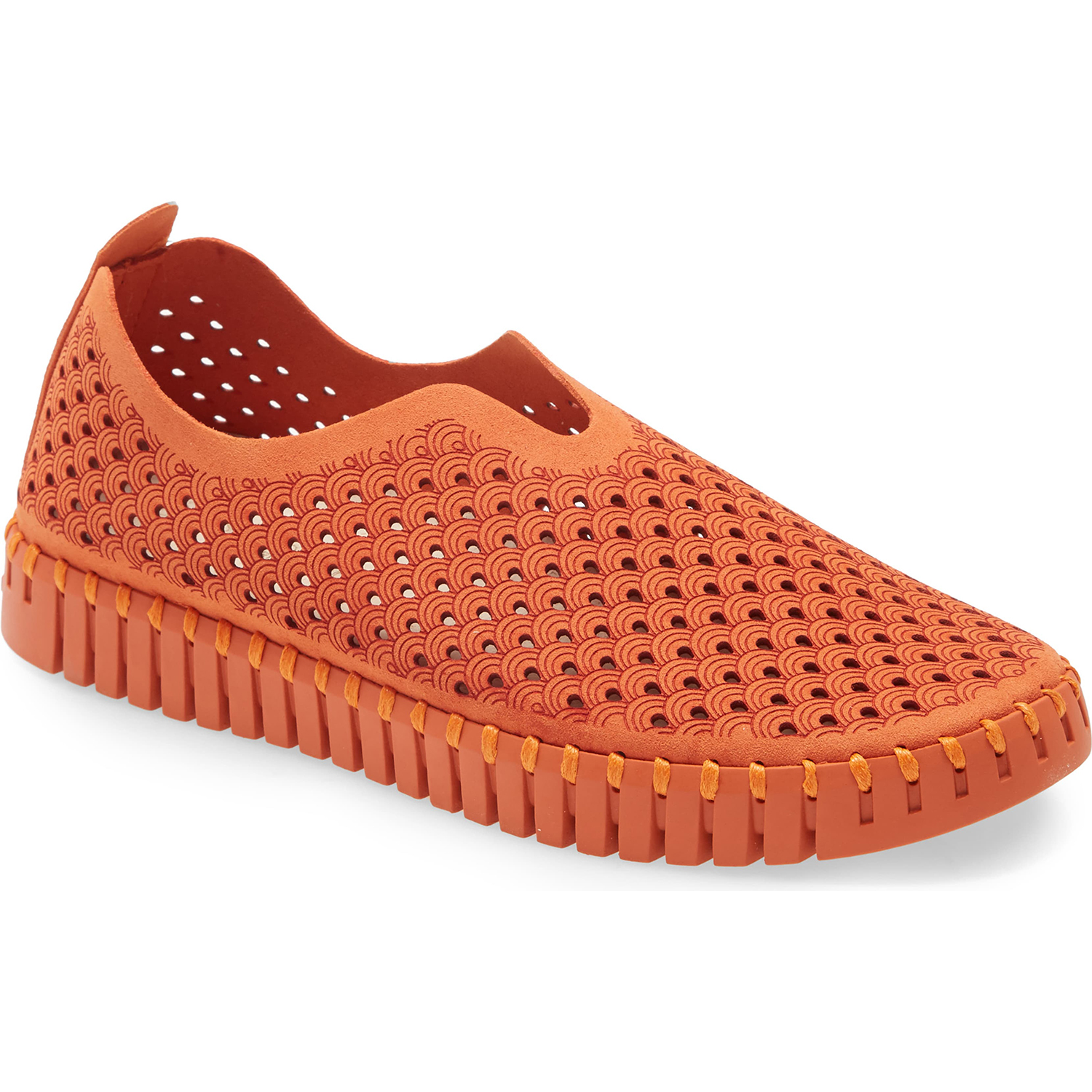 Tulip 139 Perforated Slip-On Sneaker ILSE JACOBSEN