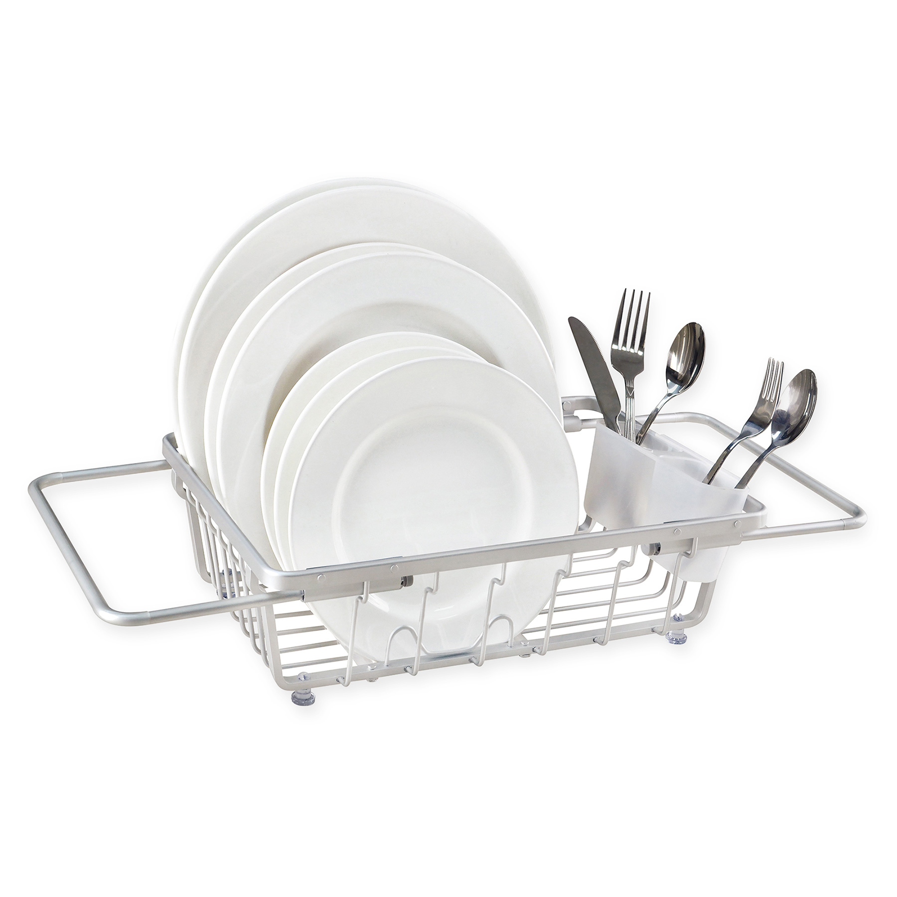 Tiny Home Interior Organizing Products: ORG Aluminum Expandable Over-the-Sink Dish Rack