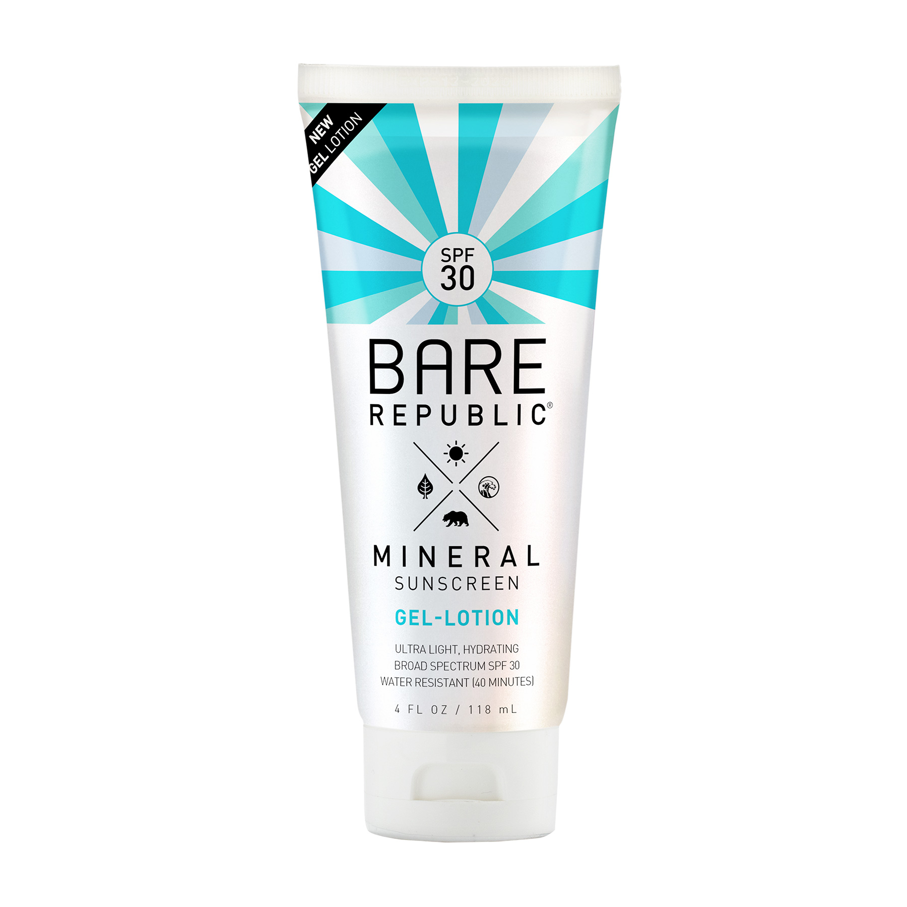Healthy Summer Skincare: Bare Republic Gel Lotion for Body SPF 30