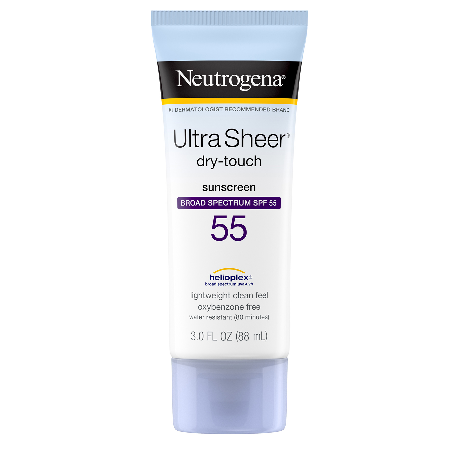 Healthy Summer Skincare: Neutrogena Ultra Sheer Dry-Touch Sunscreen Broad Spectrum SPF 55