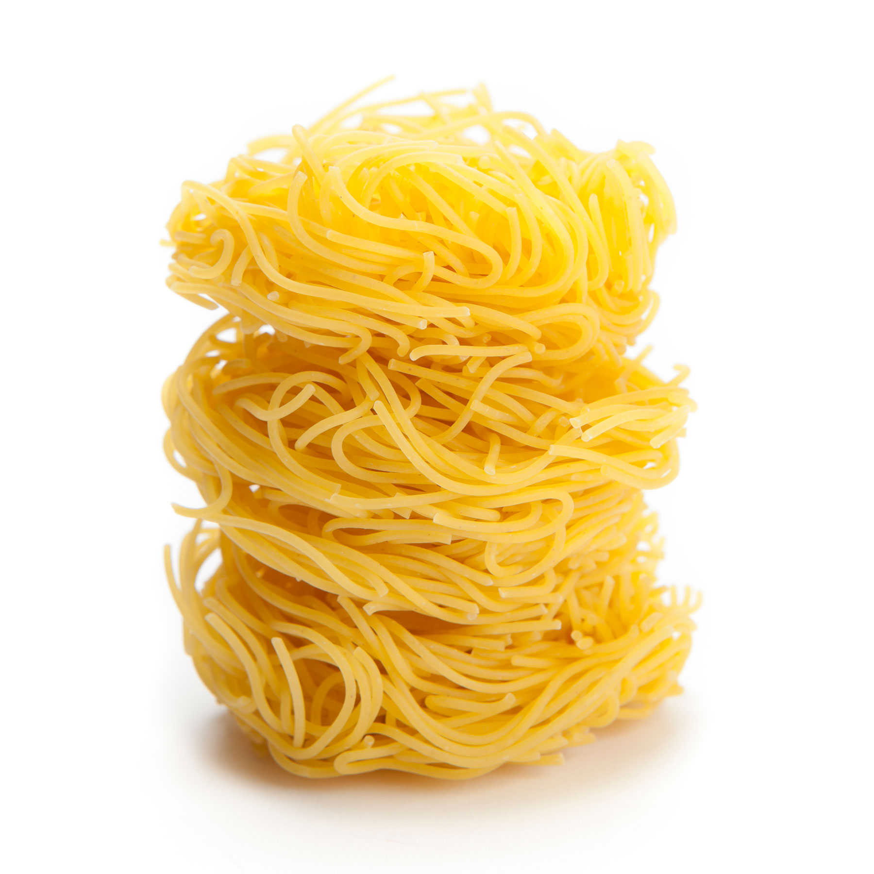 Types of pasta noodles - angel hair or capellini or capellini d'angelo
