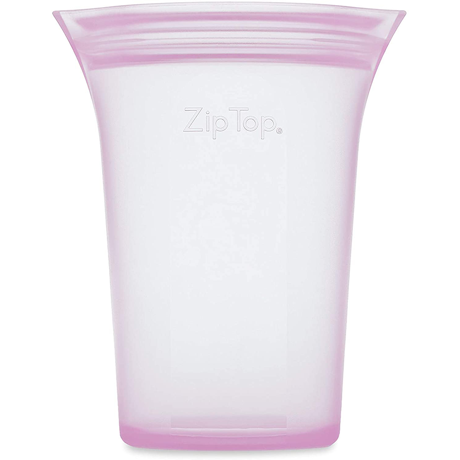 Zip Top Reusable 100% Platinum Silicone Containers
