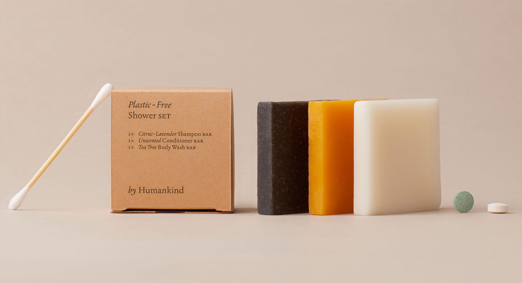 6 Clever Items (9/11/20) - by Humankind Plastic-Free Travel Set