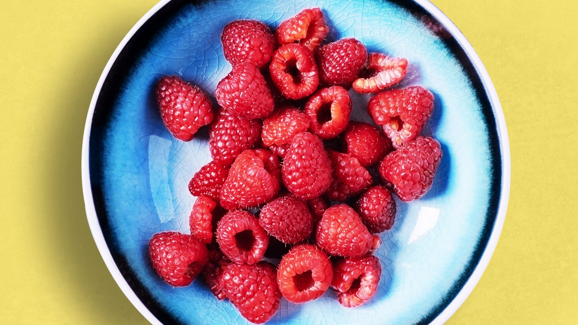 Antioxidant-foods: raspberries