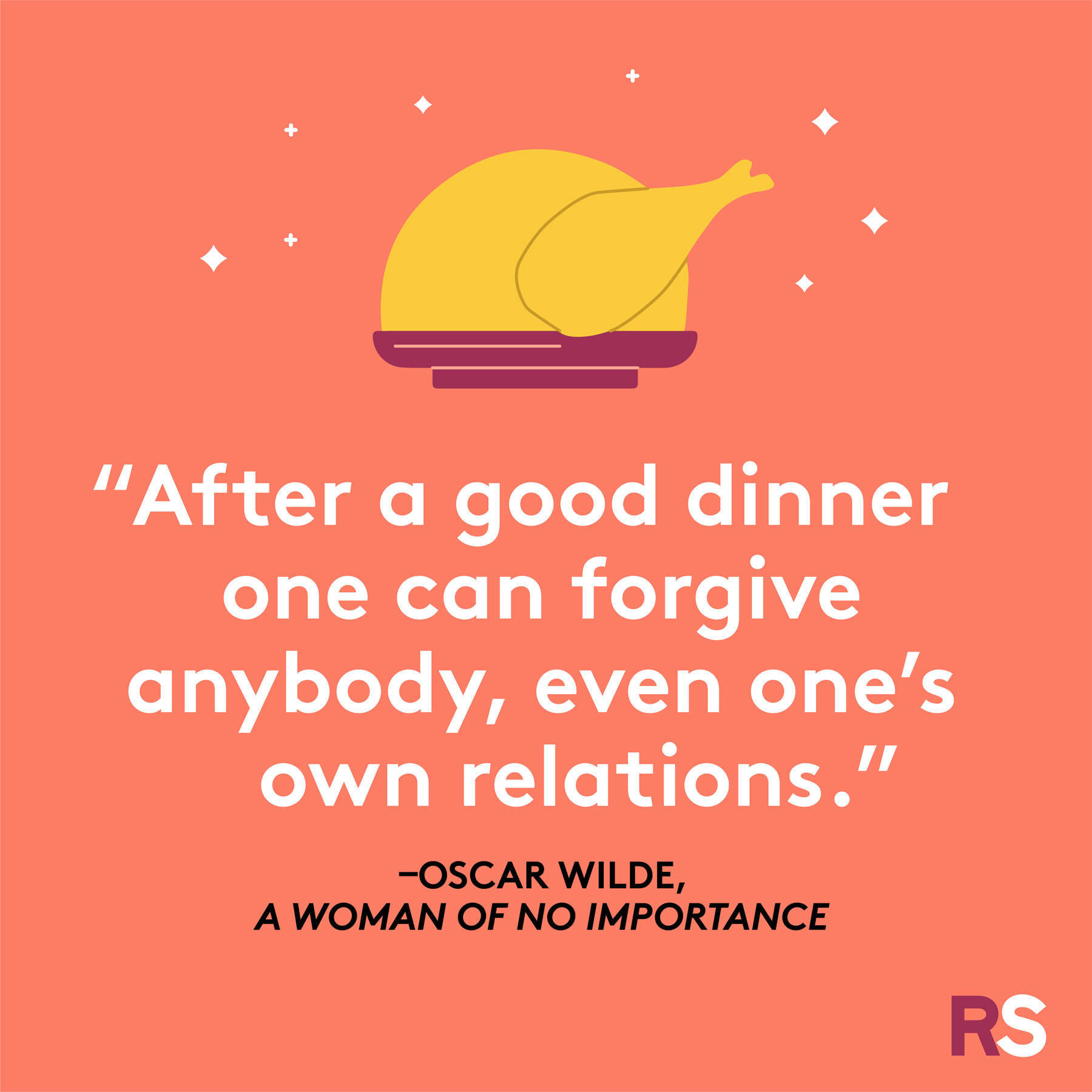 Thanksgiving wishes, messages, captions - Oscar Wilde